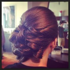 A #byMario bridal updo by Shannan! Photo cred: @TybStylistMT