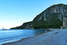 Çirali, Olympos beach is at walking distance from the Ancient Ruins of Olympos