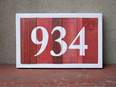 16 Best House Number Plaques Images House Numbers House