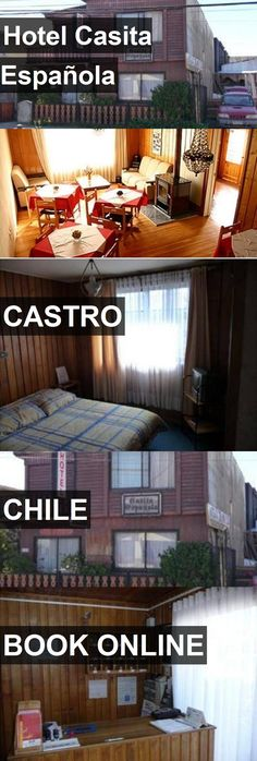 Hotel Casita Española in Castro, Chile. For more information, photos, reviews and best prices please follow the link. #Chile #Castro #travel #vacation #hotel