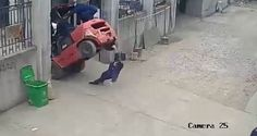Video: Woman crushed in Forklift incident
