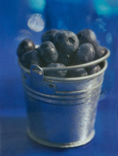 Treat your wedding guests to a healthy snack of blueberries in our Zinc Bucket, shown here in a past issue of @brides Receptions.