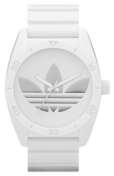 adidas Originals Santiago Polyurethane Strap Watch