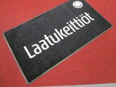 Logomatto Laatukeittiöt: http://www.promostar.fi/logomatto_omalla_kuvalla