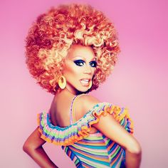 That moment when you actually ARE the crayon box you speak of. - RuPaul