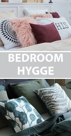 Bring plenty of hygge into your bedroom and sleeping environment with cosy cushions from JYSK.