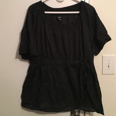 Black Mossimo top Short sleeve top Tops