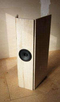 Betsy Fullrange Open Baffle Speaker