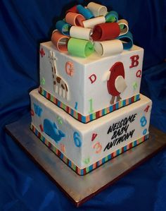 S Alphabet Cake Images : 1000+ ideas about Alphabet Cake on Pinterest Cake Pans ...