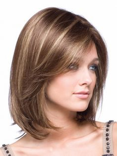Buy Women Wig Heat Resistant Synthetic Hair Wig Elegant Natural Inclined Bang Short Straight Hair Hot Sale Female Wig at Wish - Shopping Made Fun Short Hairstyles For Women, Bob Hairstyles, Straight Hairstyles, Braided Hairstyles, Pretty Hairstyles, Simple Hairstyles, Style Hairstyle, Formal Hairstyles, Celebrity Hairstyles