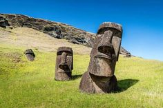 Easter Island Moai Statues - Mlenny/Getty Images