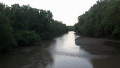 Licking River from the bridge by Blackhand Gorge