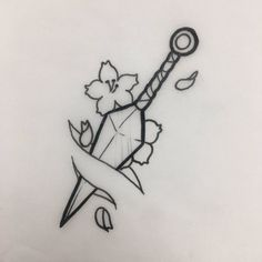 45 Creative Tattoo Drawings For Your Inspiration New Ideas zeichnungen Cool Art Drawings, Pencil Art Drawings, Art Drawings Sketches, Easy Drawings, Tattoo Drawings, Tattoos To Draw, Sword Drawings, Naruto Drawings Easy, Small Drawings