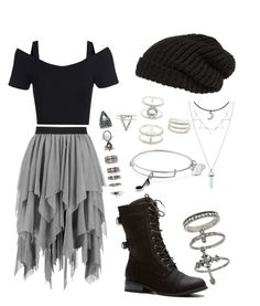 Trendy Skirt Outfits For School Black Ideas - 服 Cute Emo Outfits, Teenage Outfits, Cute Outfits For School, Teen Fashion Outfits, Edgy Outfits, Mode Outfits, Grunge Outfits, Skirt Outfits, Outfits For Teens
