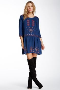 Eclectic Beaded Dress by Yumi London on @HauteLook