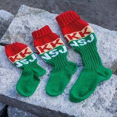Kvikk Lunsj sokkepakke | Garnkurven