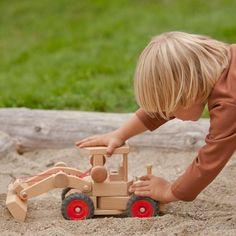 front end loader - Nova Natural Toys & Crafts - 3