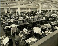 Production Department, 1940.