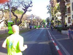 Itt még csak 20 ezres tömeg futott együtt - a 30. kilométernél vagyok