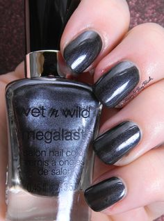 Wet N Wild Keep Vinyl Alive | Be Happy And Buy Polish http://behappyandbuypolish.com/2015/10/27/wet-n-wild-heres-to-the-wild-ones-nail-polish-collection/