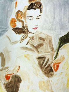 Vogue Paris Translation: Elizabeth Peyton - Journal - I Want To Be A Coppola Elizabeth Peyton, Elizabeth Ii, Contemporary Artists, Modern Art, Portraits, Portrait Paintings, Female Art, Painting & Drawing, Illustrators