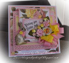 Sweeet Designs By Cheryl: Really Reasonable Ribbons March Hop