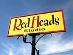 sign post Red Studio, Redheads, Signs, Home Decor, Red Heads, Decoration Home, Room Decor, Shop Signs, Ginger Hair