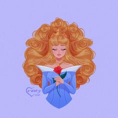 Disney Princess Aurora, All Disney Princesses, Princess Cartoon, Disney Artwork, Disney Fan Art, Disney Drawings, Sleeping Beauty Art, Sleeping Beauty Maleficent, Disney Dream
