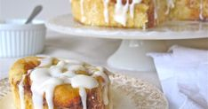 My Mom is famous for her cinnamon rolls - she makes them, it seems, on a weekly basis. The are soft, buttery, gooey and sweet. They are g...