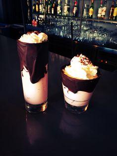 Chocolate co glasses for milkshake :)
