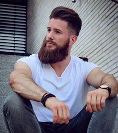Medium Beard Styles, Best Beard Styles, Hair And Beard Styles, Beard King, Beard Cuts, Hipster Beard, Beard Model, Great Beards, Epic Beard