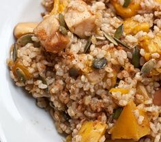 15 Vegetarian Recipes for Thanksgiving- Maple Butternut Squash and Apple Casserole