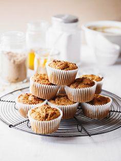 Muffins mit Süßkartoffel | http://eatsmarter.de/rezepte/muffins-mit-suesskartoffel