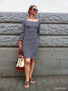 nautical stripes (and Michael Kors bag) Nautical Stripes, Michael Kors Bag, Red S, Your Style, Hamilton, Fashion Over 40, Stripes, Michael Kors Tote, Navy Stripes