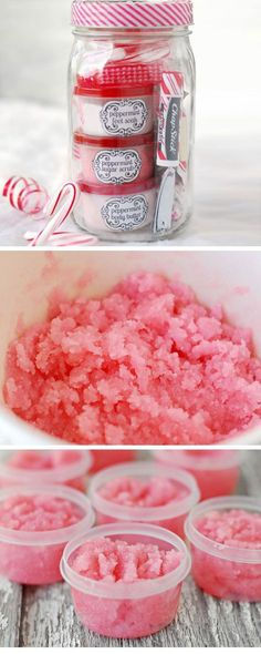 Peppermint Pampering Set   Click Pic for 20 DIY Christmas Gifts for Family Members   Handmade Christmas Gifts for Friends