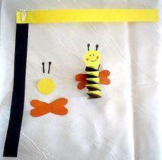 Tiere Basteln - Meine Enkel und ich - Made with schwedesign.de Textiles, Kindergarten, Kids, Crafts, Animals, Decor, Manualidades, Flowers, Art Education Resources