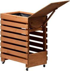 Dobar 58150fsce Dekoratives Hochbeet Aus Holz (kiefer): Tischbeet ... Gemuse Auf Dem Balkon Hochbeet Garten
