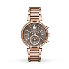 Michael Kors Women s wrist watch Sawyer MK6226 Rose Gold plated   MichaelKors Fancy Watches, Elegant 7baac88b8c