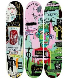 Jean-Michel Basquiat #02 from skateroom
