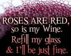 For the love of wine.