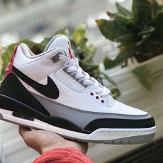 NIKE AIR JORDAN 3 RETRO TINKER NRG WHITE BLACK FIRE RED AQ3835 160   wearejordan   0b74ede1b