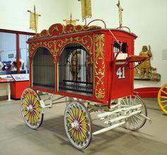 Image result for circus wagon animal cage