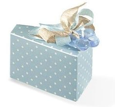 Blue Polka Dot Cake Wedge Lula Mai Events