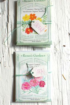 Easy Garden Wedding Favors from Chelsea at Frolic!