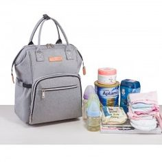 Mommy Bag Gri Large Diaper Bags, Cool Backpacks, Luggage Bags, Maternity, Nursing, Baby, Stuff To Buy, Free, Products