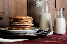 Banana Cinnamon Pancakes by pastryaffair