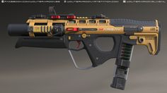 "ArtStation - QSI ""Margay"" Personal Defense Weapon, Wouter Kroon"