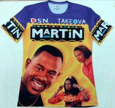 Martin 3D Sublimation Print T-Shirt - OGV Shop