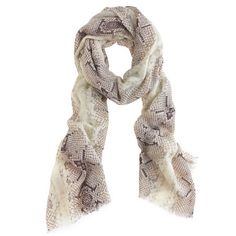 Shop the Animal-print wool scarf at J.Crew and see the entire selection of Accessories. Find clothing & accessories at J. Animal Print Belts, Animal Print Fashion, Animal Prints, Polka Dot Socks, Swag, Python Print, Wool Scarf, Snake Print, Scarf Wrap