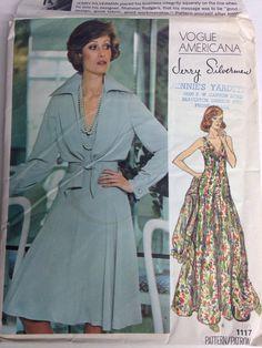 Vogue Americana 1117 Evening Dress & Jacket